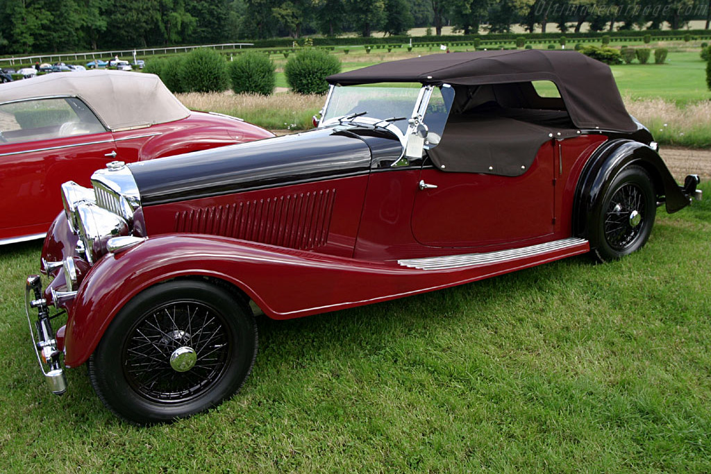Click here to open the Bentley 4¼ Litre Vanden Plas Tourer gallery
