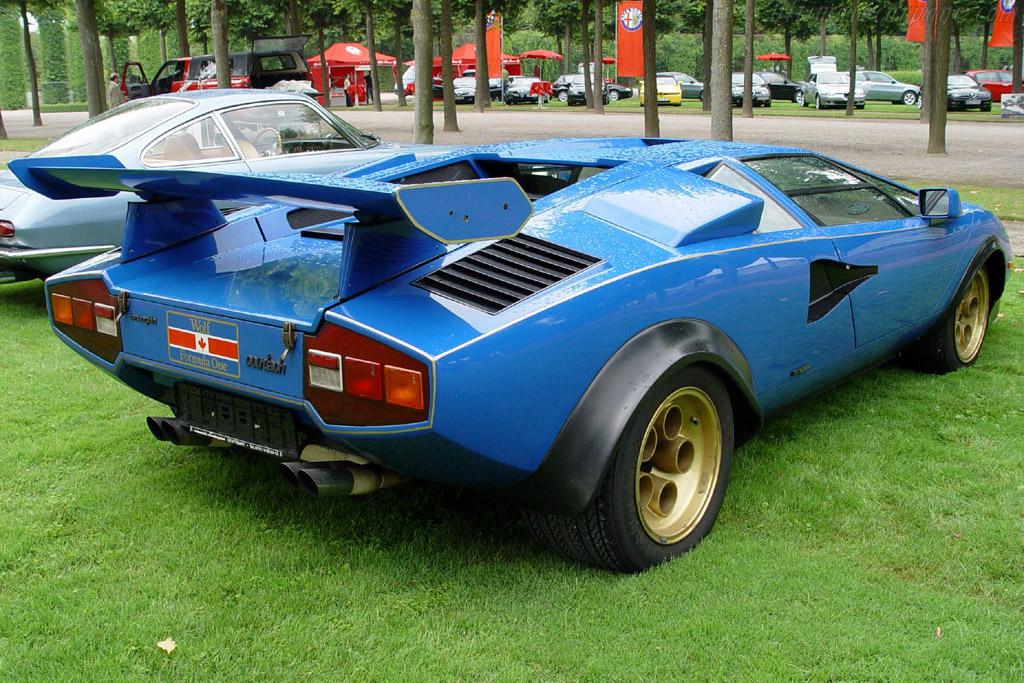 Lamborghini Countach Lp400 Prototipo Chassis 1120202
