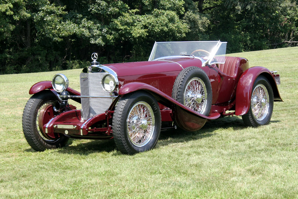 Click here to open the Mercedes-Benz 710 SSK 27/170/225 hp Murphy Roadster gallery