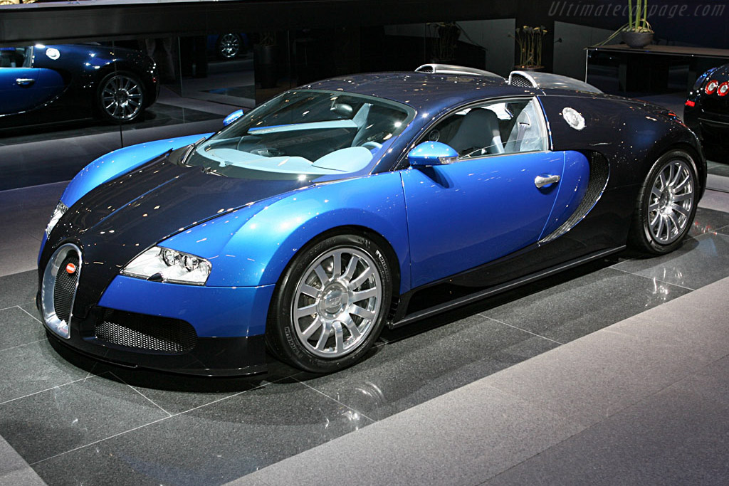Bugatti Veyron 16.4    - 2006 Geneva International Motor Show