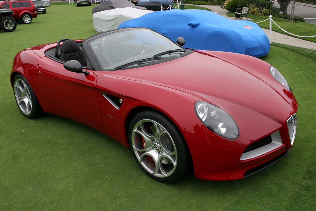 Click here to open the Alfa Romeo 8C Spider Concept gallery