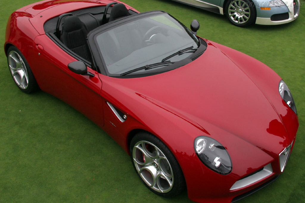 Alfa Romeo 8C Spider Concept    - 2005 Pebble Beach Concours d'Elegance