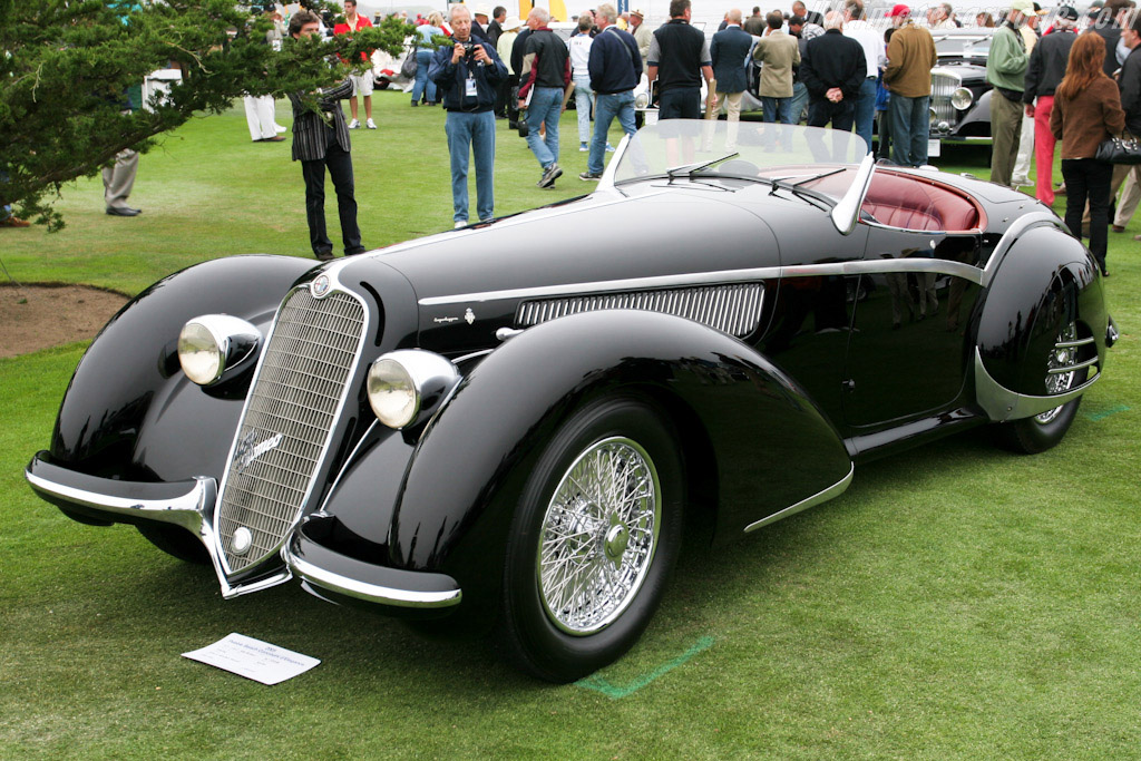 1937 1938 Alfa Romeo 8c 2900b Corto Touring Spider Images Specifications And Information