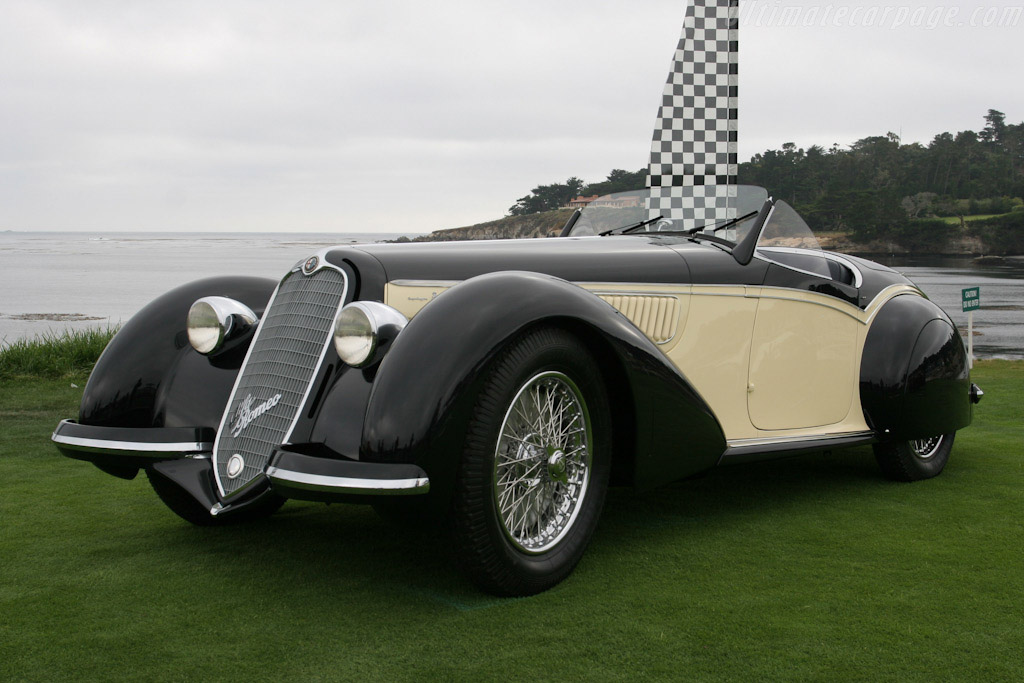 Alfa Romeo 8C 2900B Corto Touring Spider - Chassis: 412019   - 2005 Pebble Beach Concours d'Elegance