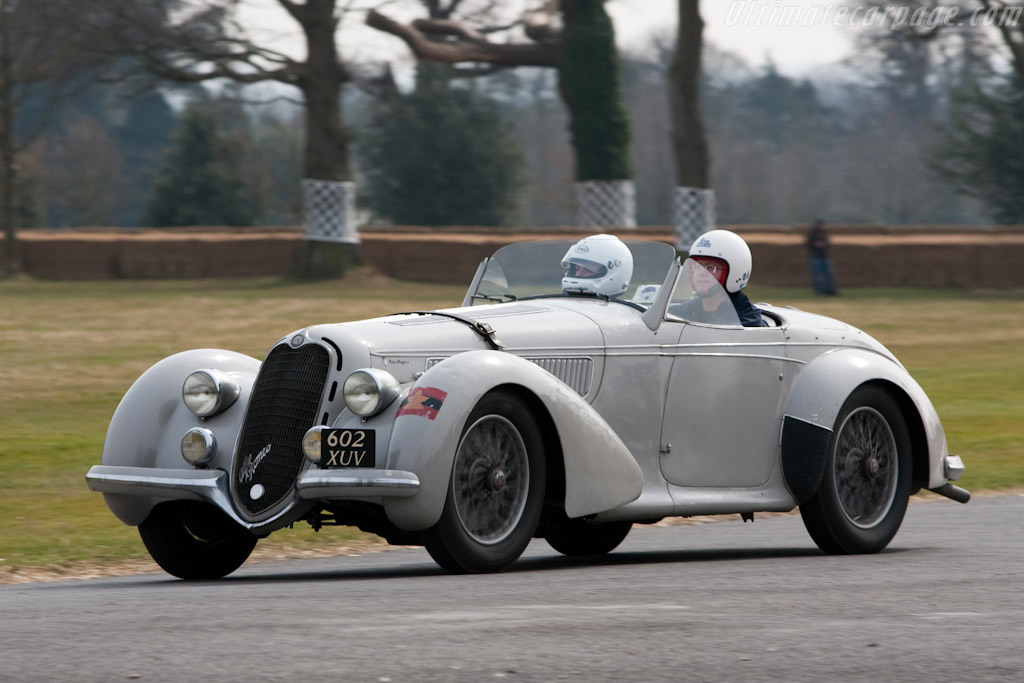 Alfa Romeo 8C 2900B Corto Touring Spider - Chassis: 412016   - 2010 Goodwood Preview