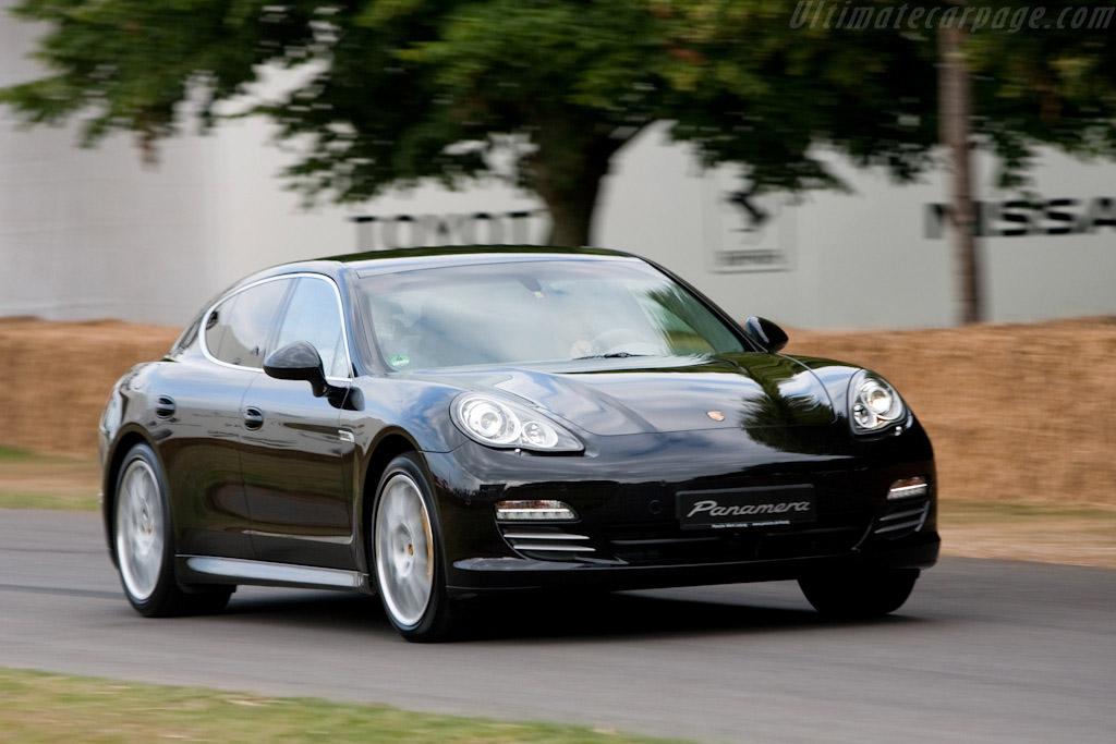 Porsche Panamera 4S   - 2009 Goodwood Festival of Speed