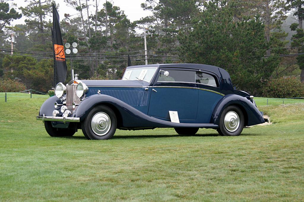 Rolls Royce Phantom Iii Vesters Amp Neirinck Coupe Chassis