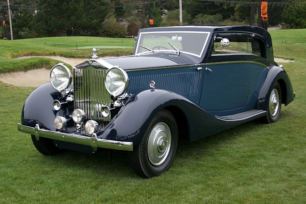 Click here to open the Rolls-Royce Phantom III Vesters & Neirinck Coupe gallery