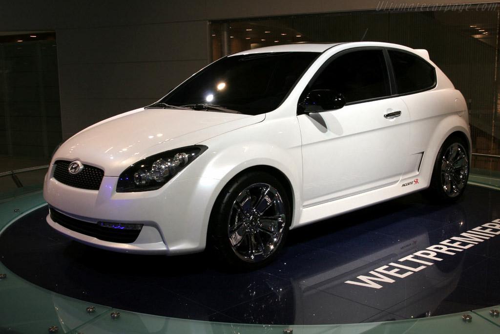 Hyundai Accent SR Concept    - 2005 Frankfurt Motorshow (IAA)