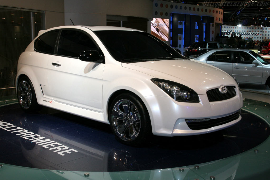 Click here to open the Hyundai Accent SR Concept gallery