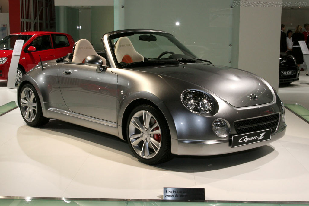 2005 Daihatsu Copen ZZ Concept - Images, Specifications and Information