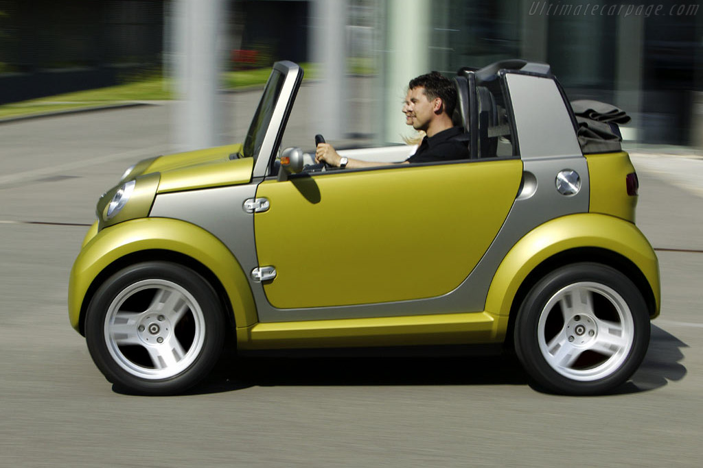 Smart Car In >> Smart Crosstown Hybrid Concept