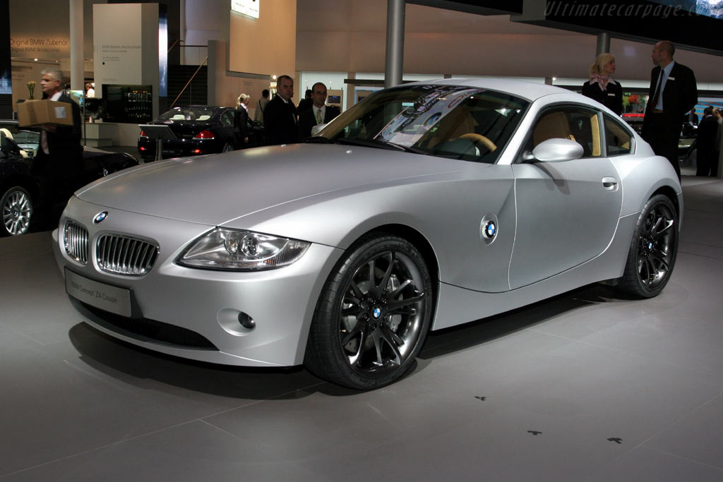 2005 Bmw Z4 Coupe Concept Images Specifications And