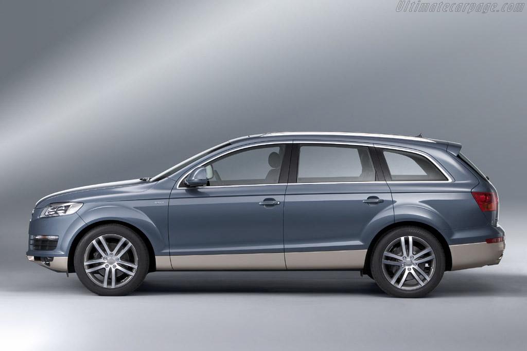 Audi Q7 >> Audi Q7 Hybrid Concept