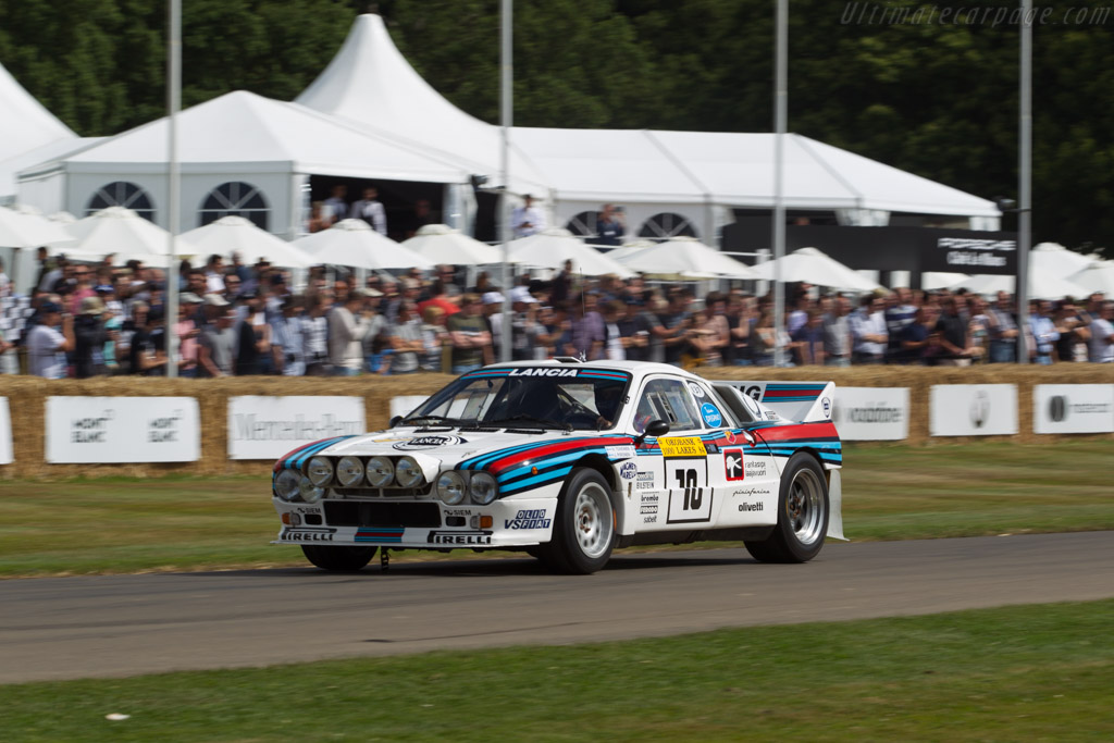 Lancia 037 Rally - Chassis: ZLA151AR0 00000408   - 2017 Goodwood Festival of Speed