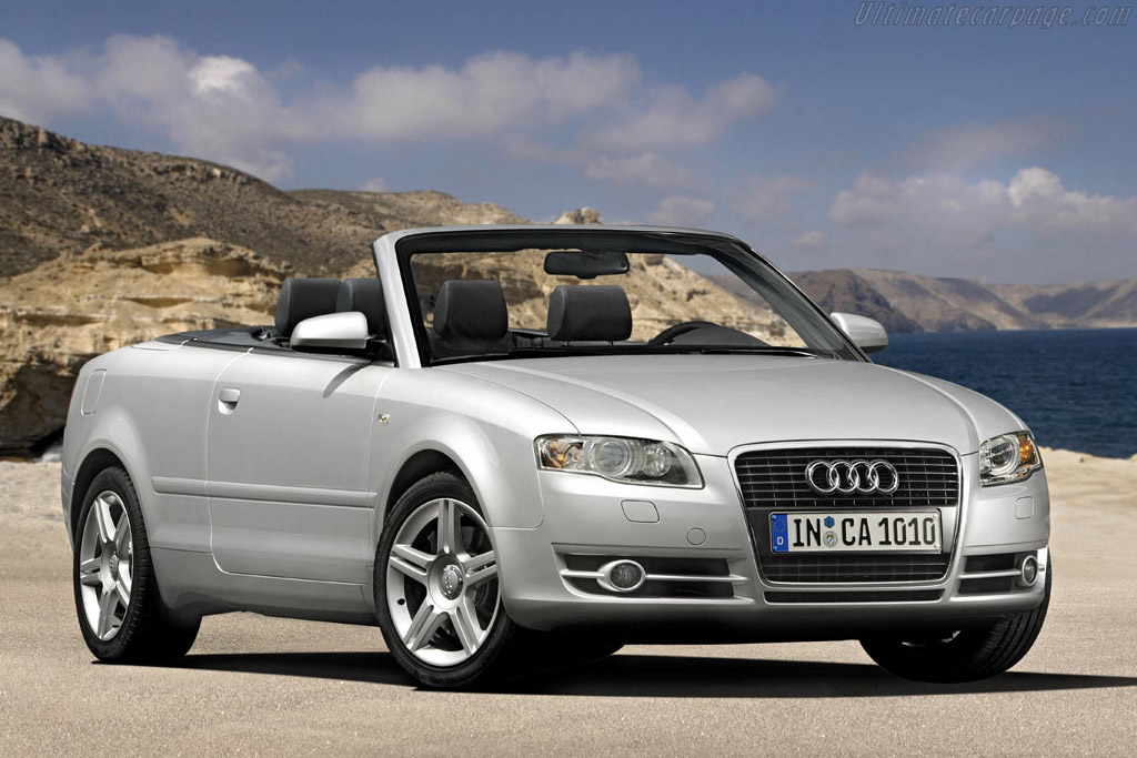 Click here to open the Audi A4 Cabriolet gallery