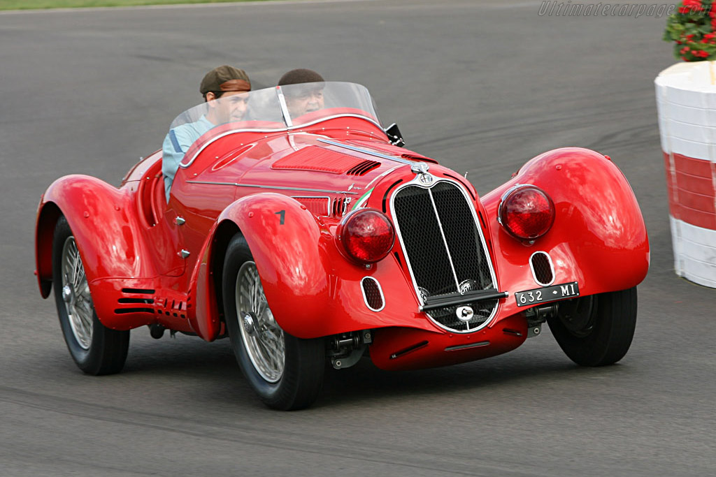 Alfa Romeo 8C 2900B MM Touring Spider - Chassis: 412030  - 2006 Goodwood Revival