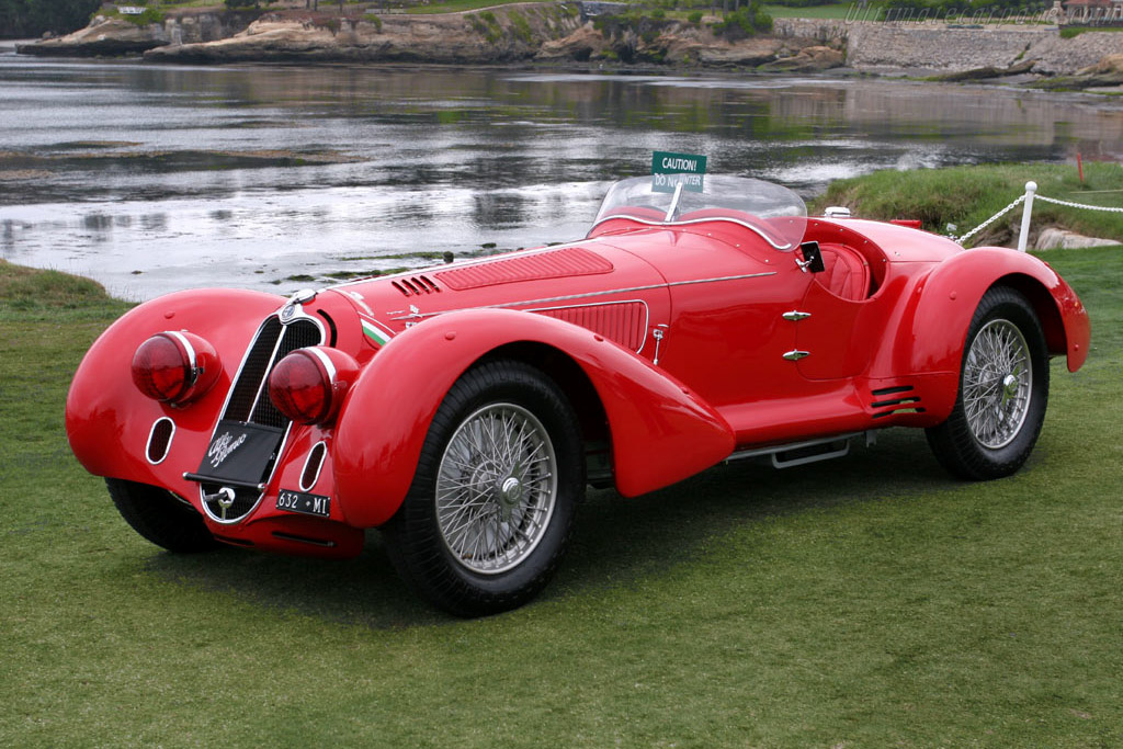 Alfa Romeo 8C 2900B MM Touring Spider - Chassis: 412030   - 2005 Pebble Beach Concours d'Elegance