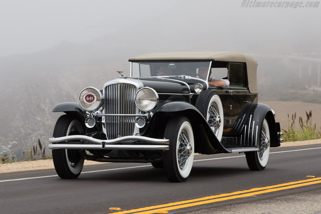 Click here to open the Duesenberg J Murphy Convertible Sedan gallery