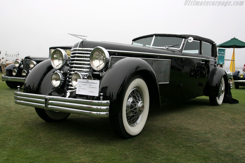 Click here to open the Duesenberg SJ Rollson Fully Collapsible Town Car gallery