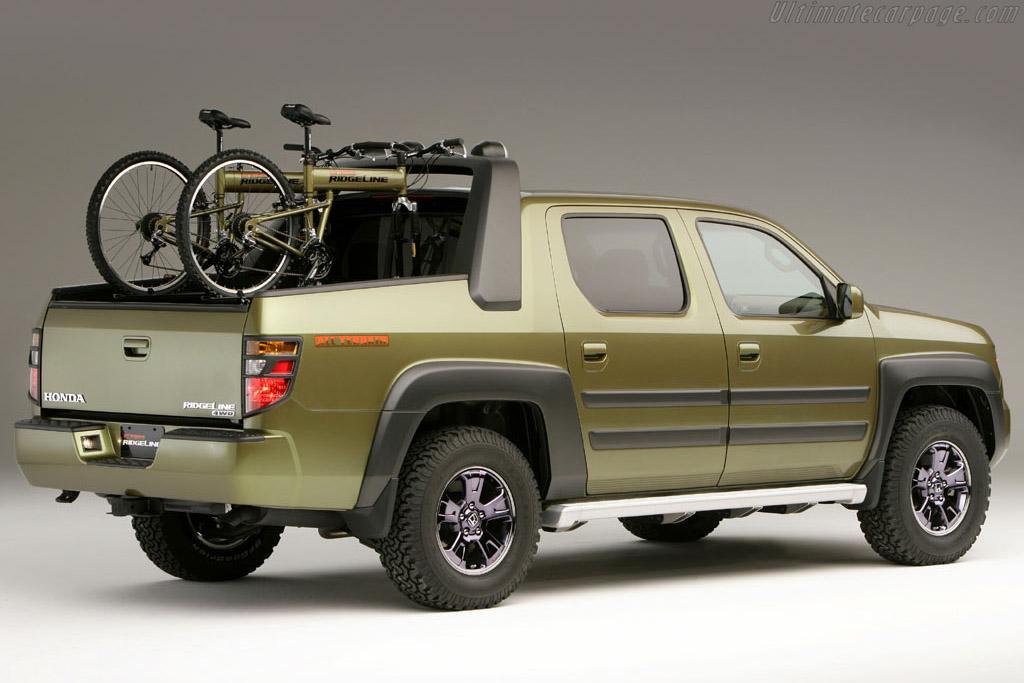 All Terrain Car >> Honda Ridgeline All-Terrain Concept