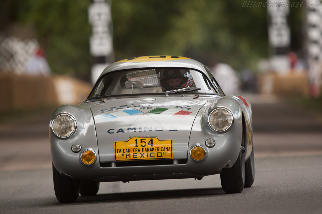Porsche 550 Coupe - Chassis: 550-01   - 2010 Goodwood Festival of Speed