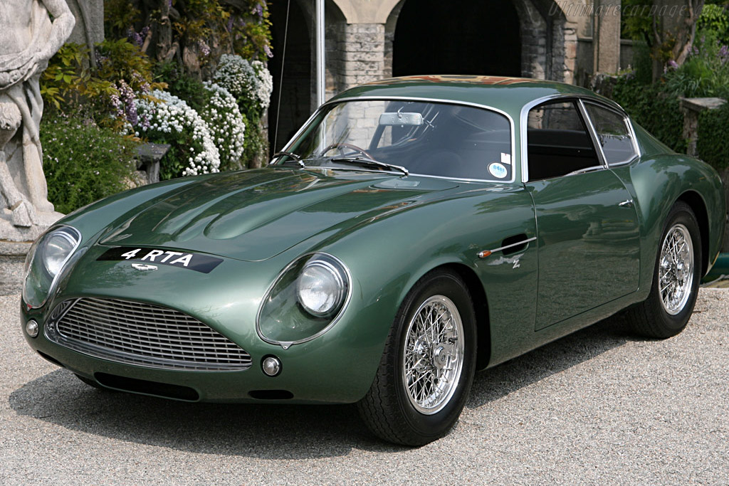 1960 1962 aston martin db4 gt zagato images specifications and information. Black Bedroom Furniture Sets. Home Design Ideas