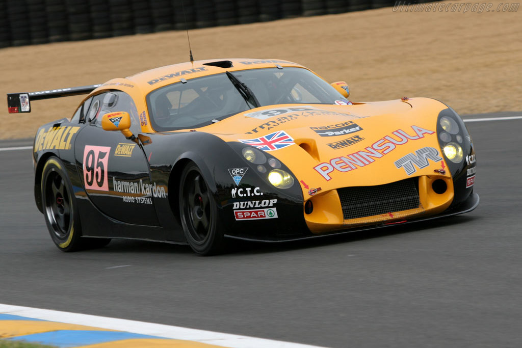 TVR Tuscan T400R - Chassis: 1227   - 2005 Le Mans Test