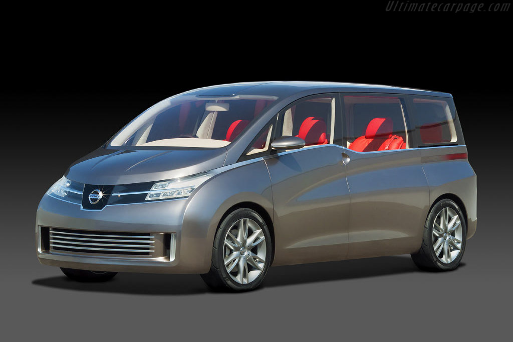 Click here to open the Nissan Amenio Concept gallery