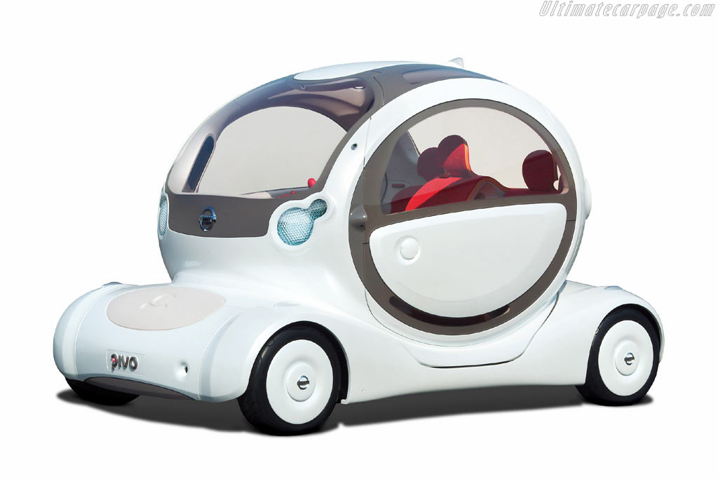 Click here to open the Nissan Pivo Concept gallery