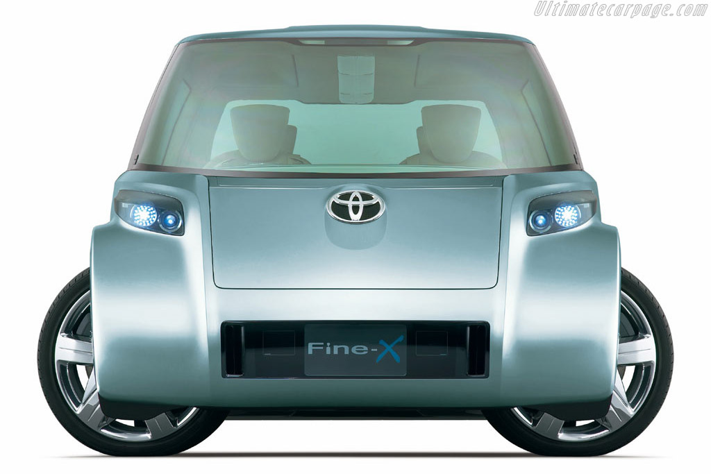 Click here to open the Toyota Fine-X gallery