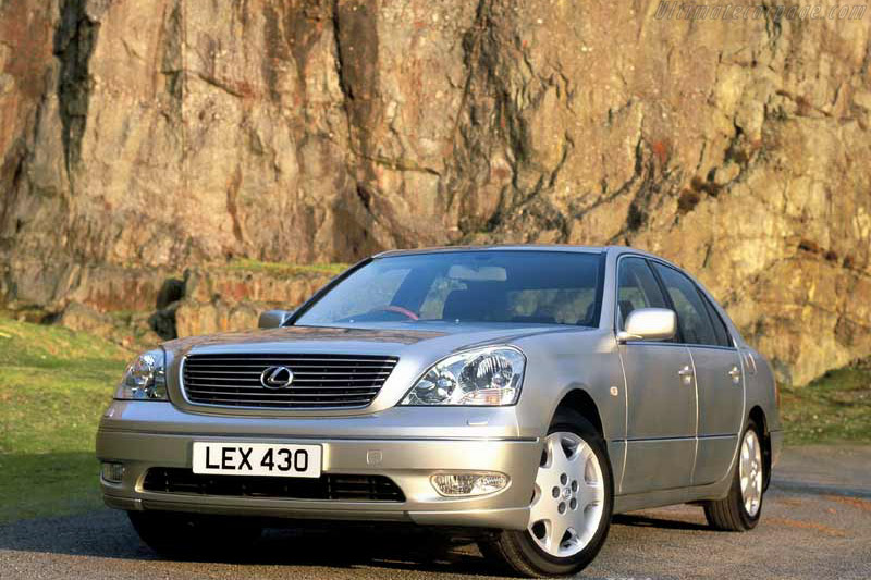 Click here to open the Lexus LS 430 gallery