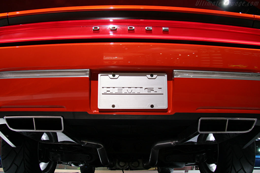 Dodge Challenger Concept    - 2006 North American International Auto Show (NAIAS)