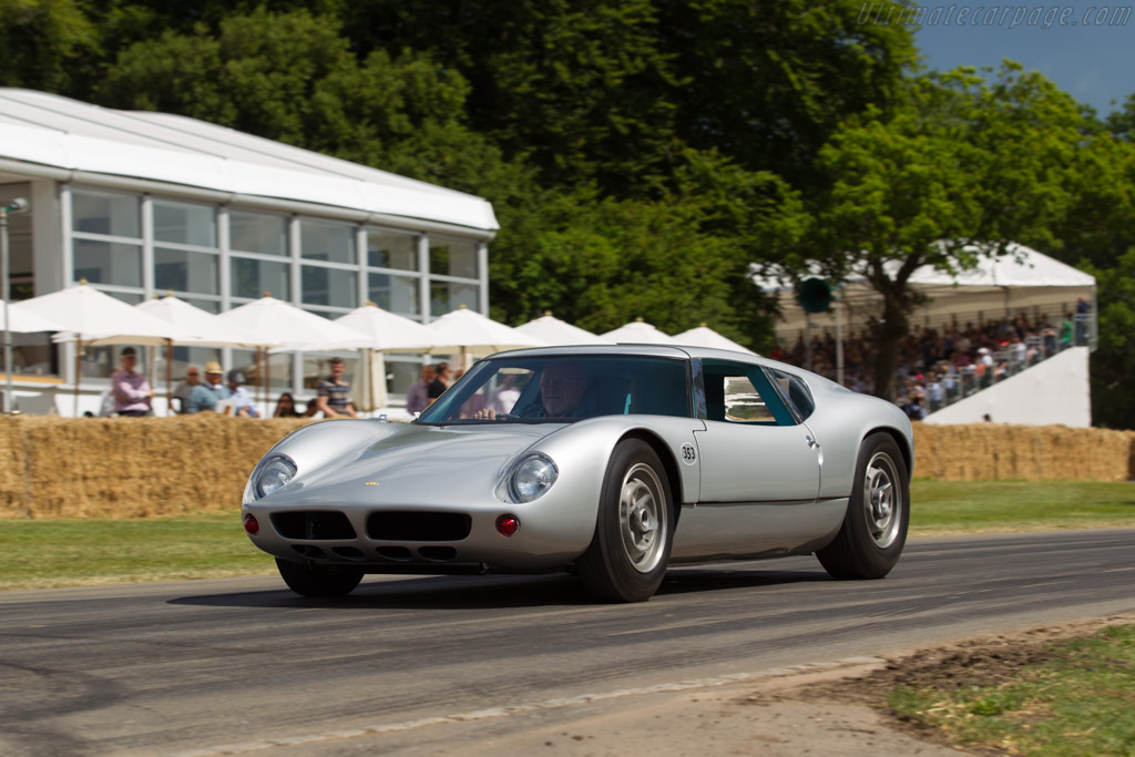 Lola Mk6 GT Ford - Chassis: LGT/P - Driver: Allen Grant  - 2017 Goodwood Festival of Speed