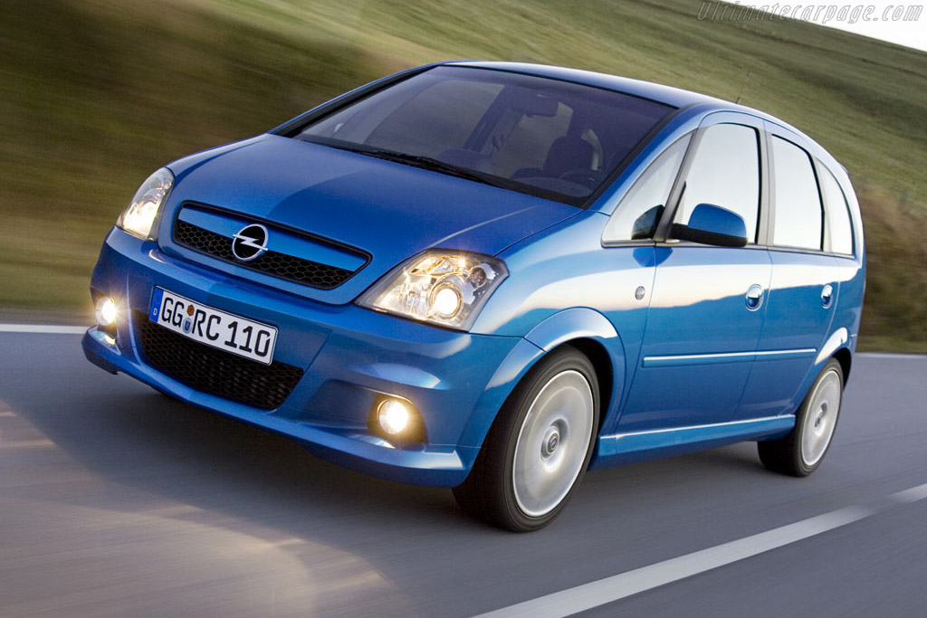 2005 Opel Meriva Opc Images Specifications And Information