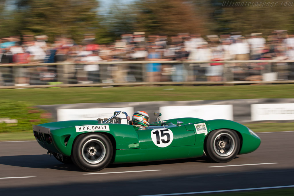 Lola T70 Spyder Chevrolet - Chassis: SL70/7   - 2012 Goodwood Revival