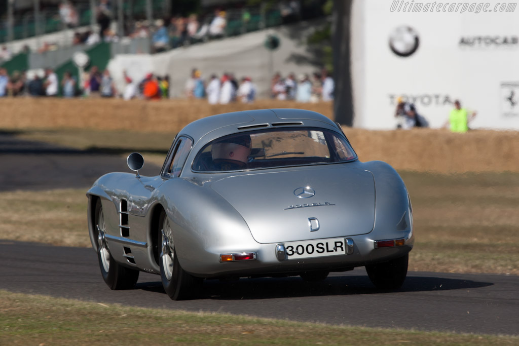 Mercedes-Benz 300 SLR Uhlenhaut Coupe - Chassis: 00008/55   - 2010 Goodwood Festival of Speed