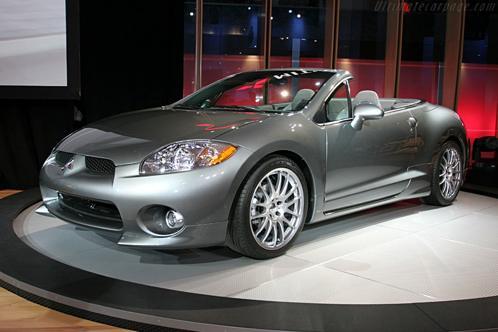 2006 Mitsubishi Eclipse Gt Spyder Images Specifications And