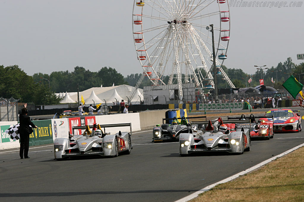 Audi R10 TDI - Chassis: 102   - 2006 24 Hours of Le Mans