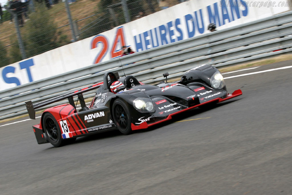 Courage C60 Hybrid Judd - Chassis: 05   - 2005 Le Mans Test