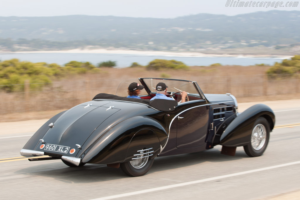 bugatti type 57 c gangloff aravis cabriolet chassis 57798 2009 pebble beach concours d. Black Bedroom Furniture Sets. Home Design Ideas