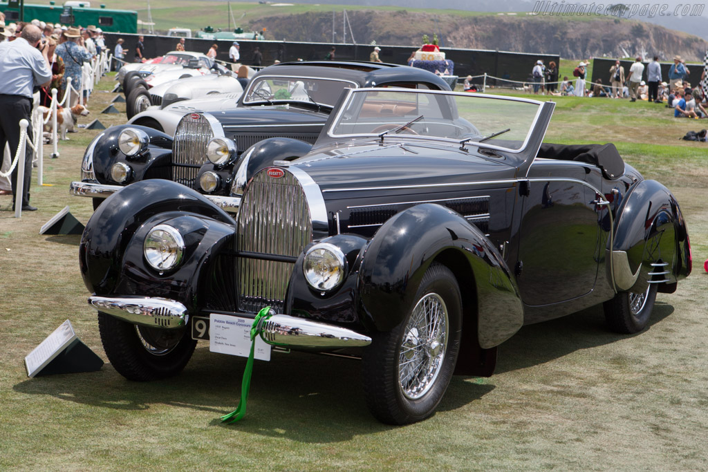 Bugatti Type 57 C Gangloff Aravis Cabriolet - Chassis: 57798   - 2009 Pebble Beach Concours d'Elegance