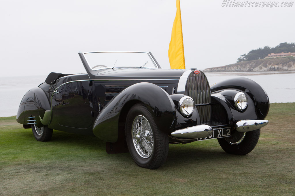 Bugatti Type 57 C Gangloff Aravis Cabriolet - Chassis: 57798   - 2009 Pebble Beach Concours d'Elegance