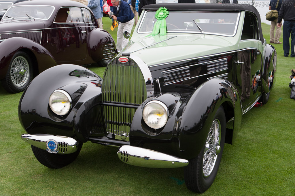 Bugatti Type 57 C Gangloff Aravis Cabriolet - Chassis: 57710   - 2011 Pebble Beach Concours d'Elegance