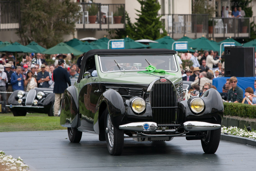 Bugatti Type 57 C Gangloff Aravis Cabriolet - Chassis: 57710   - 2011 Pebble Beach Concours d'Elegance