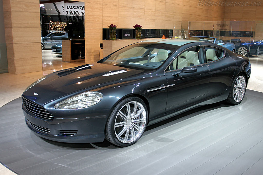 Click here to open the Aston Martin Rapide Concept gallery