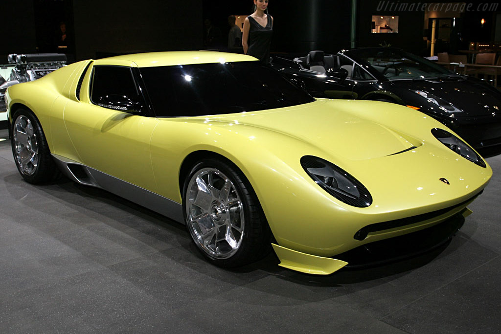 2006 Lamborghini Miura Concept Images Specifications And Information