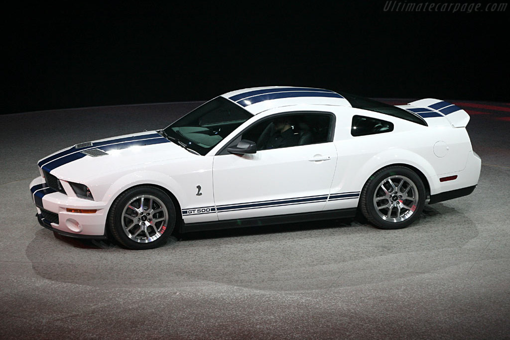 Ford Shelby Mustang Gt500 Coupe 2006 North American