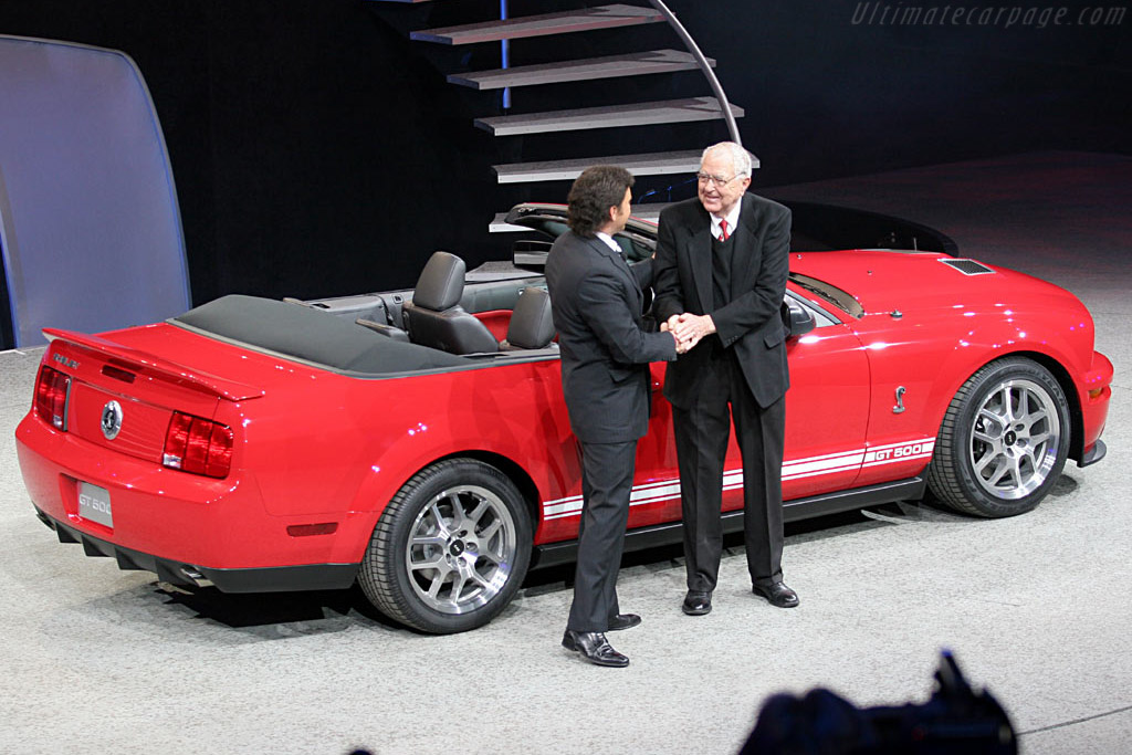 Ford Shelby Mustang GT500 Convertible    - 2006 North American International Auto Show (NAIAS)
