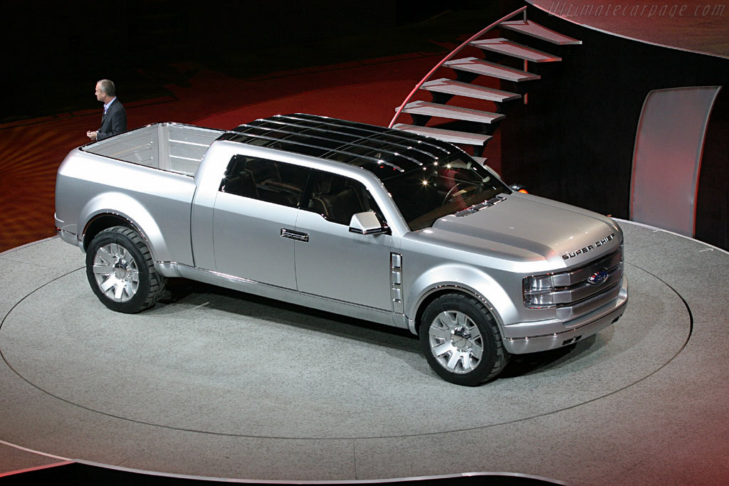 Ford f250 superchief specifications